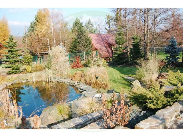 Ogród górski z basenem - Bielsko Biała